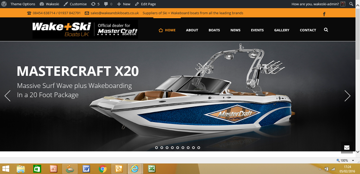 Wake and Ski Boats UK Launch All New Web Site
