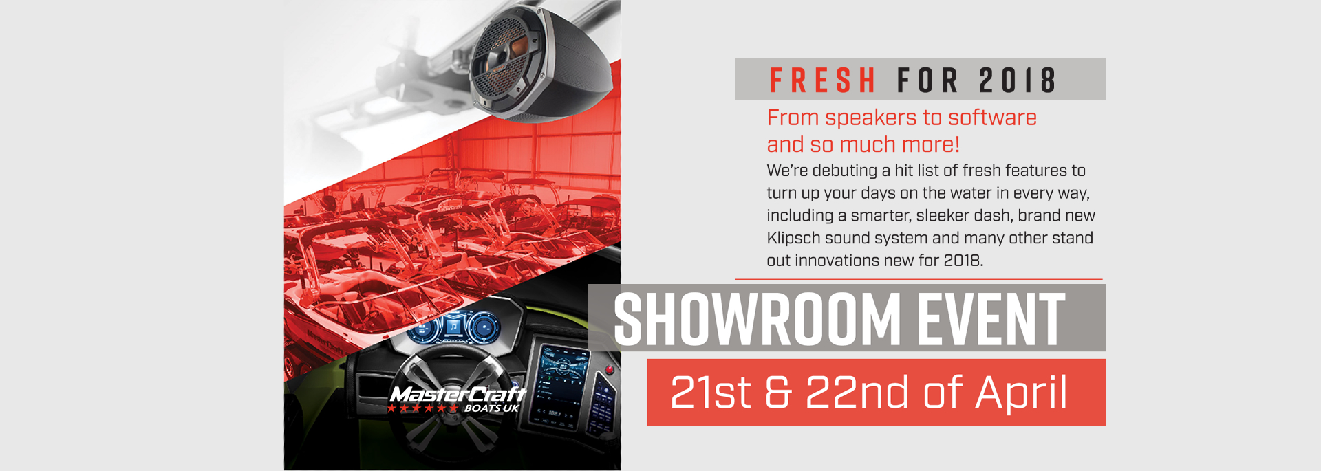 MasterCraft Boats UK Showroom Event